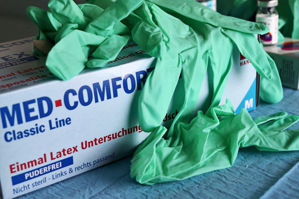 Opties voor wegwerphandschoenen